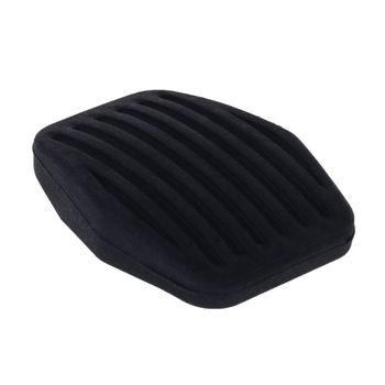 New 1 Pc Vehicle Car Auto Brake Clutch Pedal Rubber Pads Cover Foot Rest Protector Case for MK2 CMAX C-MAX Kuga image