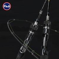 TSURINOYA BaitCasting Spinning Fishing Rod WOLF 1.98m 2.09m 2.2m 2.28m Medium Light FUJI Guide Long Casting Bass Carbon Lure Rod