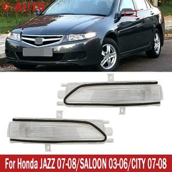 C-Auto LED Rearview Mirror Turn Signal Side Mirror Repeater Lamp For Honda FIT JAZZ 2007-2008/SALOON 2003-2006/CITY 2007-2008 image