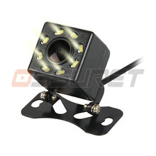 Ossuret Car Rear View Camera for all cars 8 LED Night Vision