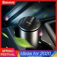 Baseus forte perfume carro ambientador de ar aromaterapia copo titular purificador automático difusor aroma com purificação formaldeído