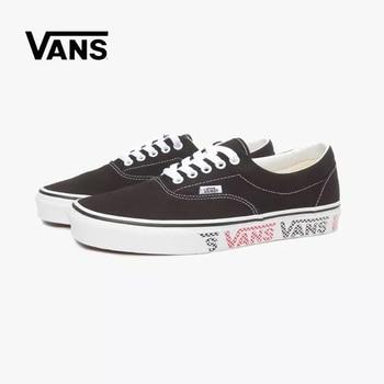 VANS Denim canvas Top quality classic low-top authentic shoes Sports Skools Skateboarding shoes sneakers canvas shoes Eur 36-44 vans authentic grey canvas mens trainers