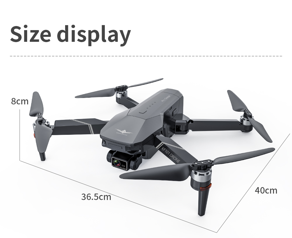 H8beefe90072f4da1a272393097cc160a5 - New KF101 GPS Drone 4K Professional 8K HD EIS Camera Anti-Shake 3-Axis Gimbal 5G Wifi Brushless Motor RC Foldable Quadcopter