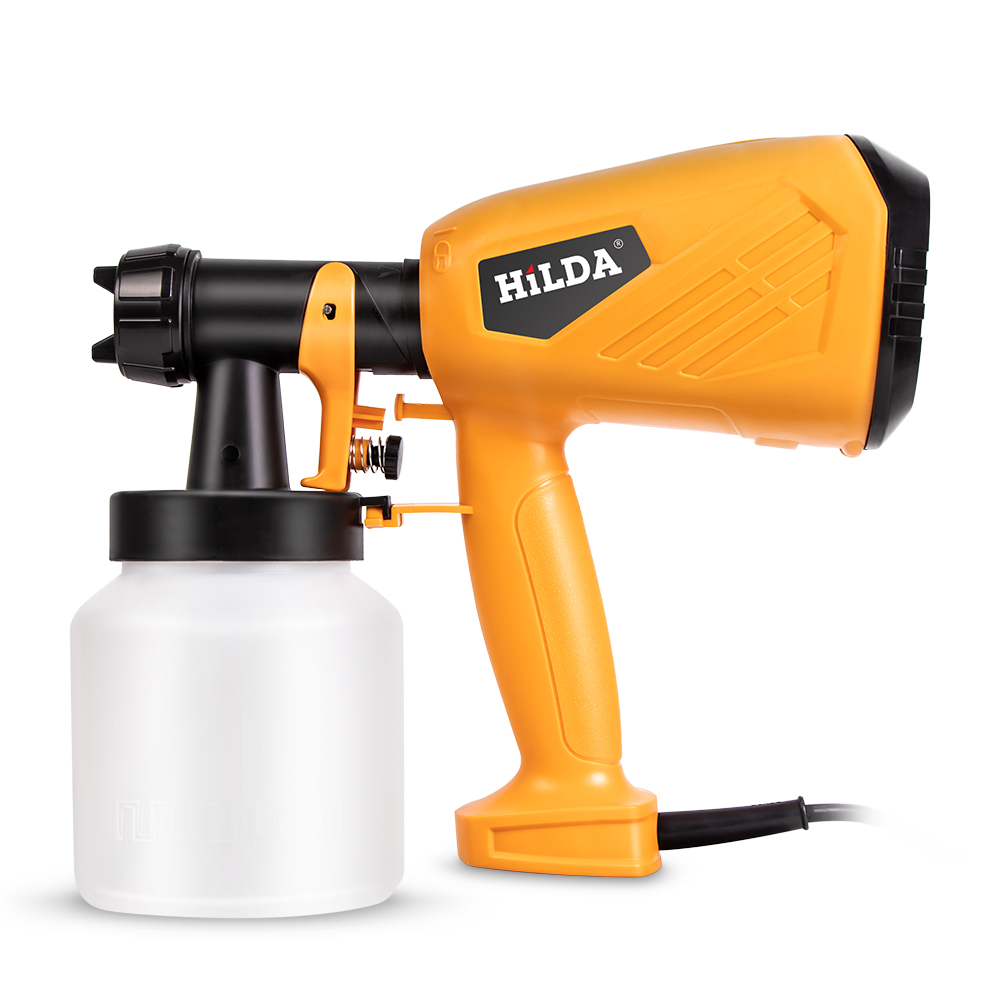 220V Handheld Spray Gun Paint Sprayers 500W High Power Home Electric Airbrush Easy Spraying Cars Wood Furniture Wall Woodworking