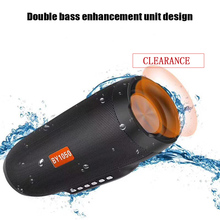 NBY 1050 Bluetooth speaker Portable Wireless Loudspeakers For Phone Computer Stereo Music surround Waterproof Outdoor Speakers wireless bluetooth speaker outdoor waterproof boombox portable stereo subwoofer surround speakers for computer support tf usb