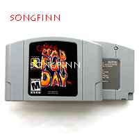 Conkers Conkers Bad Fur Day USA Version 64Bit Game Cartridge