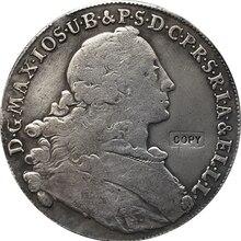Реплика 1755 скудная Pairona Bavariae немецкая копия монет