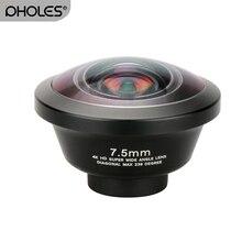 Ulanzi 238 Degree Fisheye HD Lens 0.2X Wide Angle Lens for iPhone X 7 6 Samsung Huawei Xiaomi 4K HD Clip On Camera Phone Lens