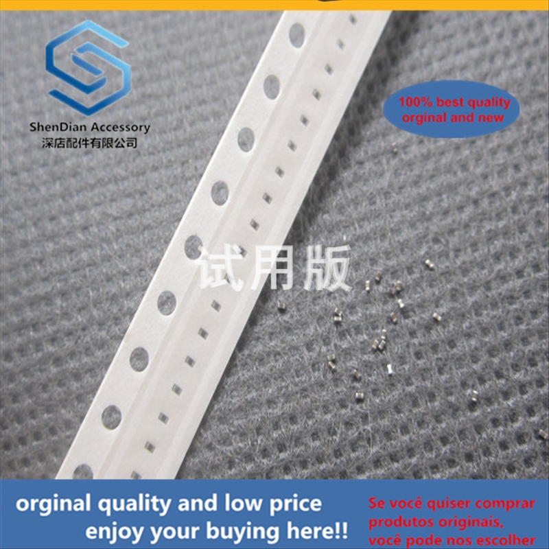 50pcs 100% Orginal New Best Quality Chip Capacitor 0201 1uF 1000nF 105M 16V X5R Accuracy: 20% M Range