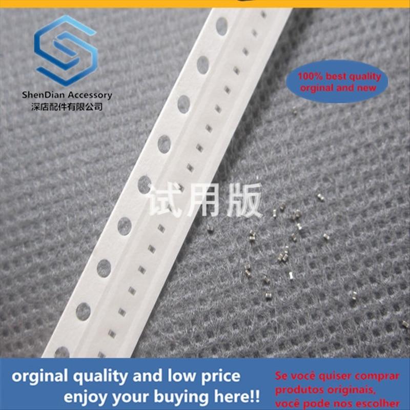 50pcs 100% Orginal New Best Quality Chip Capacitor 0201 1uF 1000nF 105M 16V X5R Accuracy: 20% M Range