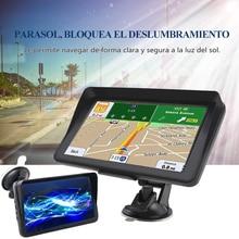 Gps навигационное устройство 9 дюймов HD конденсатор lincoln navigutor256MB Bluetooth спутниковая голосовая навигация Navitel последняя Европа