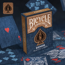 Bicycle Denim Playing Cards Poker Size Deck Collectable Deck Magic Cards Magia Magic Tricks Props for Magician Free Shipping цена 2017