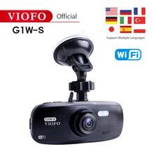 VIOFO, оригинальная G1W-S, поддержка Wi-Fi и gps, автомобильная камера, обновленная, HD 1080 P, видеорегистратор, супер конденсатор, видеокамера IMX323 и поддержка gps