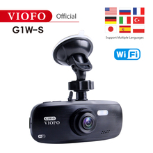 лучшая цена VIOFO Original G1W-S WIFI and GPS support Car Camera Upgraded HD 1080P Dash Cam Super Capacitor Camcorder IMX323 and GPS support
