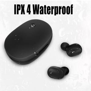 Image 4 - M1 אלחוטי Bluetooth אוזניות VS Redmi Airdots אלחוטי אוזניות TWS אוזניות רעש ביטול מיקרופון עבור Xiaomi כבוד huawei oppo