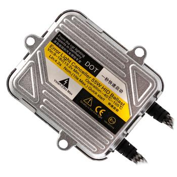 2 sztuk żarówki ksenonowe HID statecznik 12V 55W statecznik cyfrowy Slim blok elektroniczny zapłon dla ksenonowe żarówki H7 H4 H1 H3 H11 9005 9006 880 881 tanie i dobre opinie MGTV LIGHT Balast CN (pochodzenie) Uniwersalny Use for all xenon bulb
