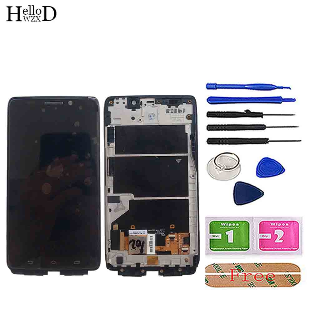 Phone LCD Display For Motorola Moto Droid MAXX XT1080 XT1080M LCD Display Touch Screen Frame Digitizer Full Assembly Parts