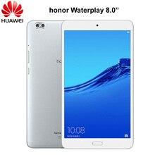 Originele Huawei Honor Waterplay 8.0 Inch 4 Gb Ram Android 8.0 Octa Core Wifi Tablet Pc Ondersteuning Type C otg Vingerafdruk Mediapad