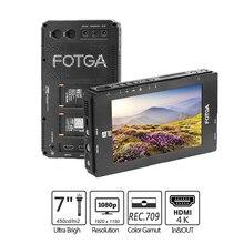 "FOTGA Monitor de campo para cámara, A70/A70T/A70TL/A70TLS, pantalla táctil de 7 ""FHD IPS, vídeo en cámara, 3D LUT 3G SDI / 4K HDMI entrada/salida 1920x1080"
