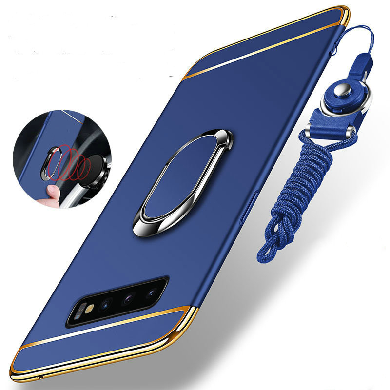Luxury Hybrid Armor Phone Case For <font><b>Samsung</b></font> Galaxy S10 S9 S8 Plus <font><b>S10E</b></font> S 10 Tough Magnet Car Holder Shockproof Protect Cover <font><b>Capa</b></font> image