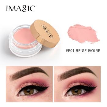 IMAGIC New Natural 4-Color Eye Primer Cream Waterproof Lasting Brightening Oil Control Beauty Cosmetics