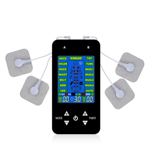 Image 2 - EMS Tens Machine Unit Electric Massager Pulse Muscle Stimulator Electrode Pads Digital Therapy Pain Relief Machine 15 Modes Tens