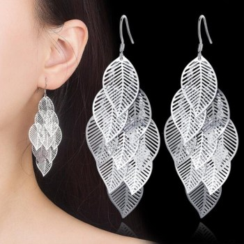 Woman High Quality Fashion Earring Feature Jewelry Jewelry 925 Silver Jewelry