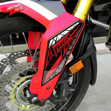 Fairing Mudguard-Protection-Decal Africa Motorcycle-Fender CRF1000L Honda for 3D