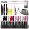 ROSALIND Gel Nail Polish Kit Hybrid Varnishes Semi Permanent Set All For Manicure Gel Nail UV LED Gel Lacquer Soak Off Nail Art 1