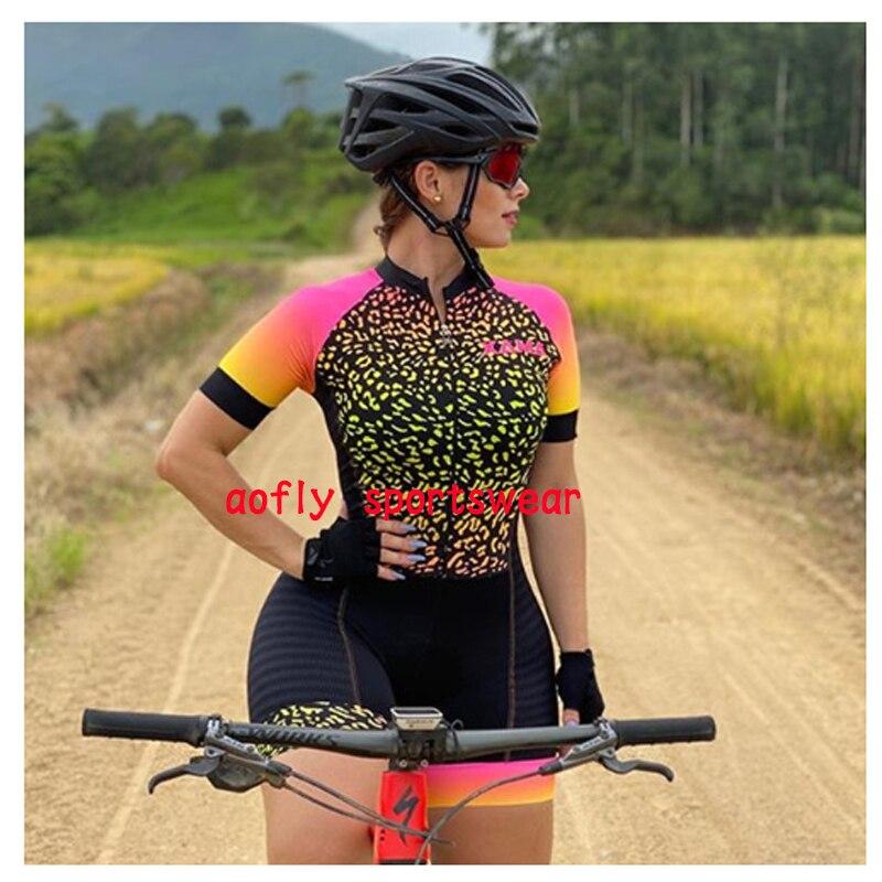 2020 xama pro feminino triathlon skinsuit bicicleta ciclismo conjuntos de jérsei macaquinho feminino roupas de bicicleta macacão gel almofada conjunto feminino ciclismo macaquinho ciclismo feminino  roupas com frete 17
