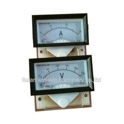 Affichages optoélectroniques ampèremètre voltmètre AC 250V
