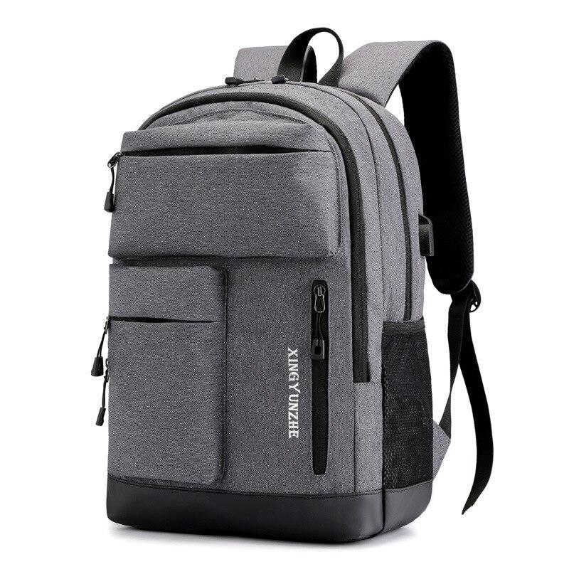 Brand Waterproof Backpack Men Large Capacity Women Laptop Backpack Girl Backpack For Student School Bags Leisure Travel Bag