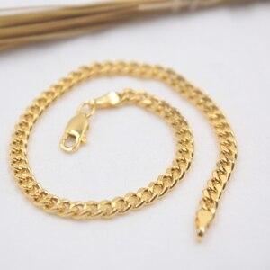 Au750 18K Yellow Gold Bracelet Woman's C