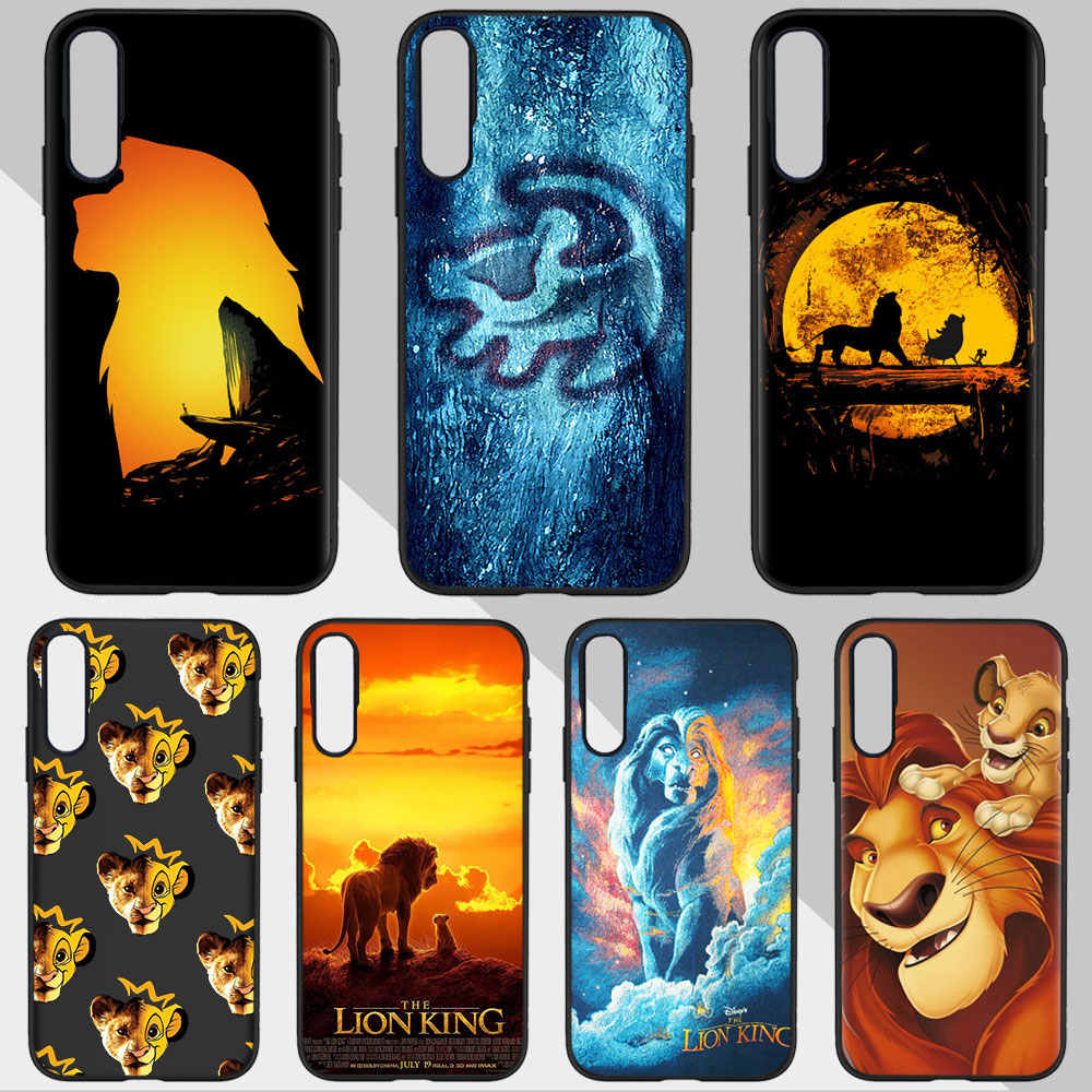 The Lion King Simba 2019 untuk iPhone XR X Max 6S 8 7 PLUS 5S untuk samsung A50 S10 S8 S9 Plus Huawei P20 Lite TPU Case