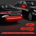 Car Reflector Sticker 91*4 Car Body Trunk Exterior Reflectante Auto Accessories Reflective Tape Reflex Exterior Warning