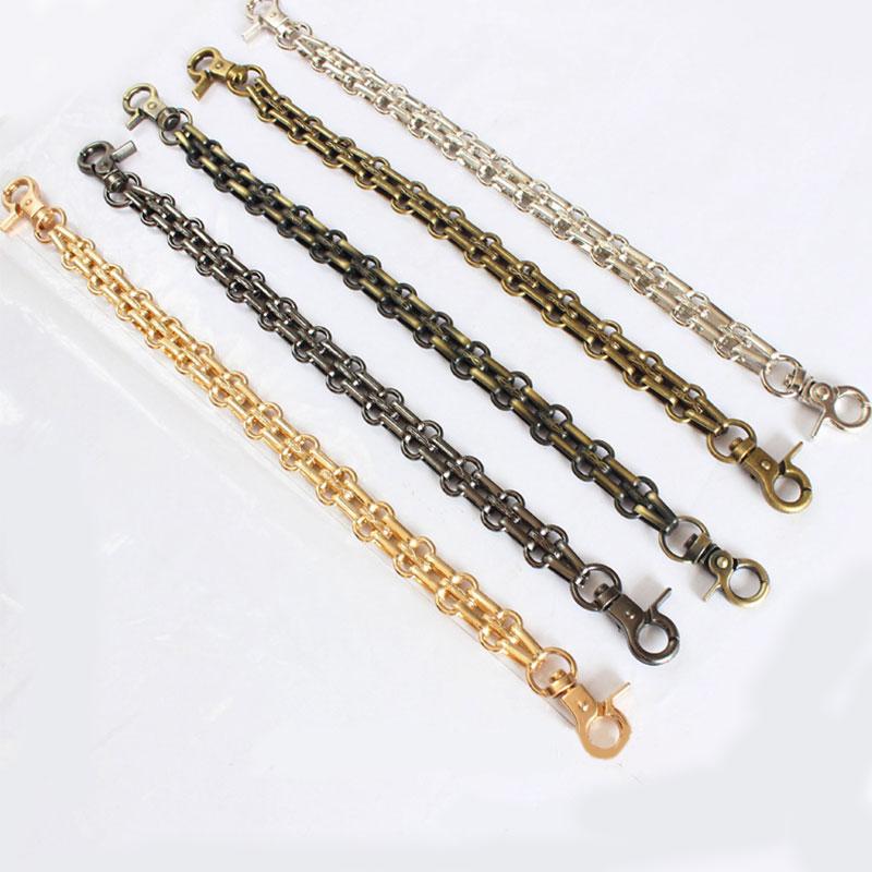 Fashion New Woman Purse Bags Belt Chain Wallet Accessroies Chain  Handle Handbag Metal Chain Replacement DIY Shoulder Strap