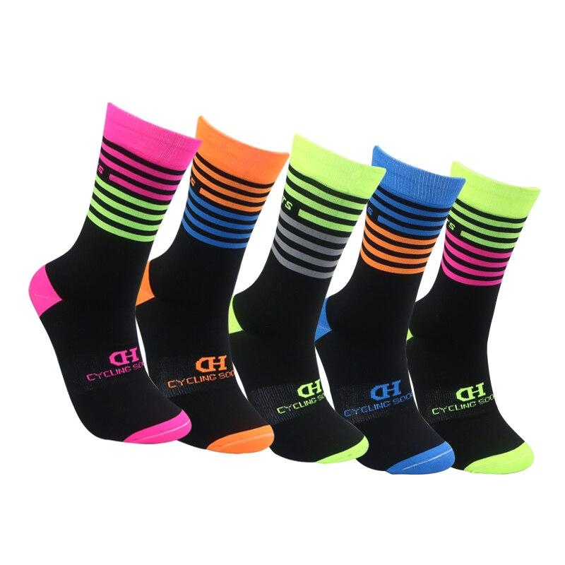 1/5/10 Pair Of Sport Socks Riding Cycling Basketball Running Sport Sock Professional Breathable Running Bike Socks TXTB1