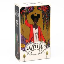 The Modern Witch Tarot 78 Cards Deck English Oracle Cards Guidance Divination Fate Board Game Playing Card for Family Party gypsy witch fortune telling playing cards