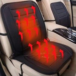ユニバーサル黒 12V ソフト肥厚加熱された車のシートクッション冬ウォーマーシート温度コントローラ