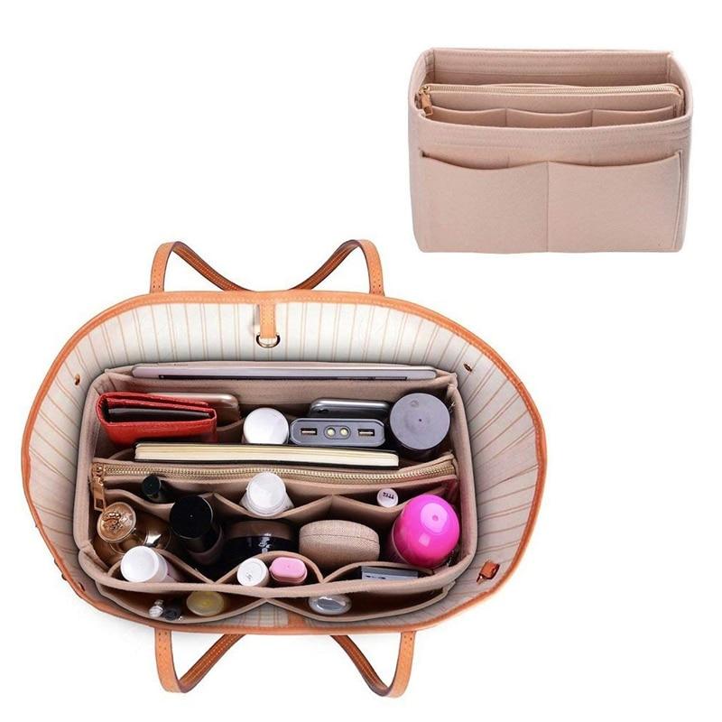 New-Popular-Women-s-Makeup-Organizer-Felt-Cloth-Insert-Bag-Multi-functional-Travel-Cosmetic-Bag-Girl (3)