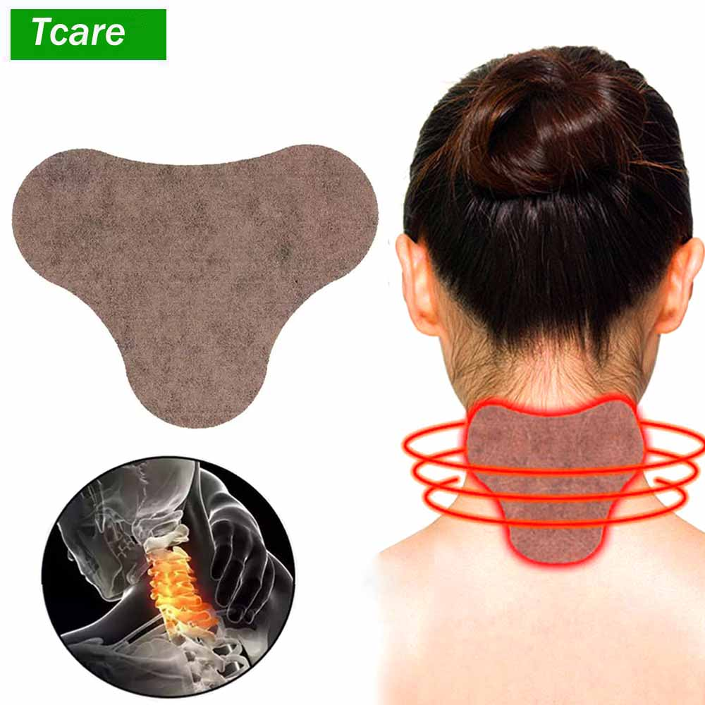 10Pcs/Set Self-Heating Shoulder Neck Cervical Pain Relief Cushion Moxibustion Patch Heat Stickers Brace