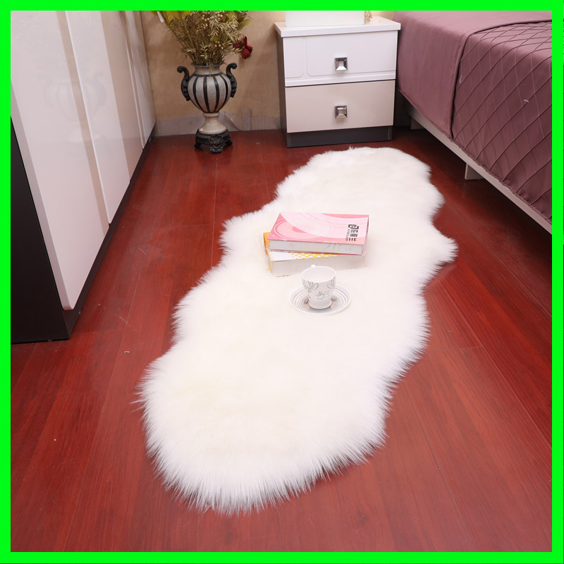 Sholisa Fur For Floor Live Room Rug Carpert Fur Rug For Bedroom Carpert Sheepskin 6cm Pile Living Room Home Decoration