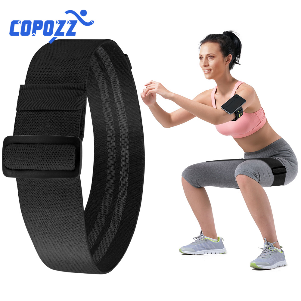 COPOZZ Adjustable Hip Loop Resistance Bands for Legs and Butt Anti
