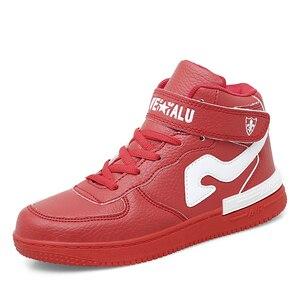 Image 1 - Kinderen High Top Airforce Schoenen Kinderen Sport Schoenen Voor Running Nieuwe Mode Casual Schoenen Voor Grote Jongens En Meisjes schoenen Sneakers