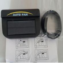 HiMISS 0 8W samochód zasilany energią słoneczną Auto Cooler wentylator samochodowy odpowietrznik ciepło spalinowe wentylator z pasek gumowy tanie tanio CN (pochodzenie) 16*9*12 5cm Korektory Black