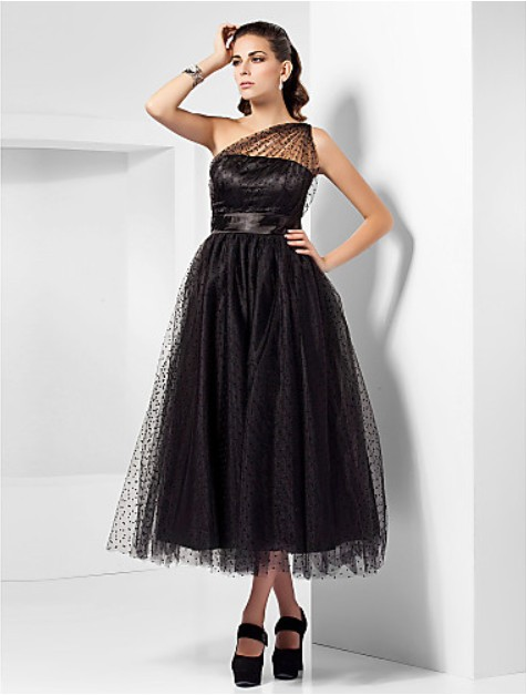 new fashion <font><b>2018</b></font> hot&<font><b>sexy</b></font> <font><b>vestidos</b></font> <font><b>de</b></font> <font><b>festa</b></font> one shoulder black casual ball gown lace elegant party gowns bridesmaid <font><b>dresses</b></font> image