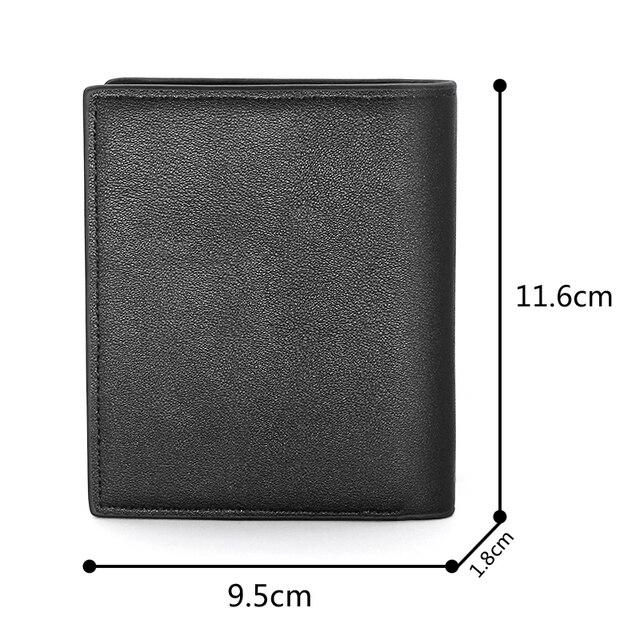 Кошелек HP Snitch Ball мужской, черный бумажник из искусственной кожи с принтом, складной держатель для кредитных карт, короткий кошелек, 2021 6
