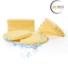 Facial Sponge Compressed PVA Professional Makeup Remover Washing Women Face Sponges Exfoliating Cleansing Spa Pads Clean Puff