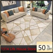 1314 Nordic Moderne Geometrische Teppich Wohnzimmer Tisch Einfache Teppich Boden Matte Schlafzimmer Decor Bereich Teppich für Wohnzimmer