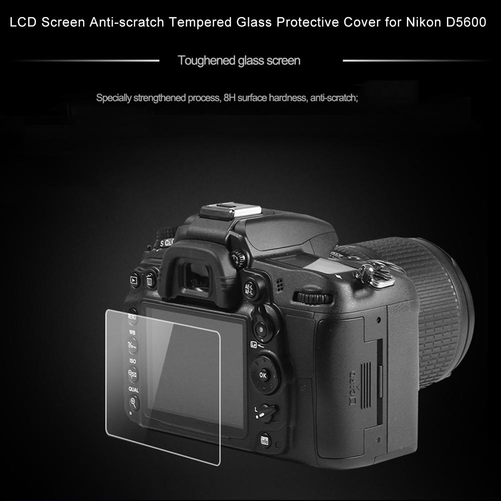 8H Tempered Glass Screen Shield Protector Film for D600 D610 DSLR